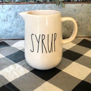 Rae Dunn Syrup container